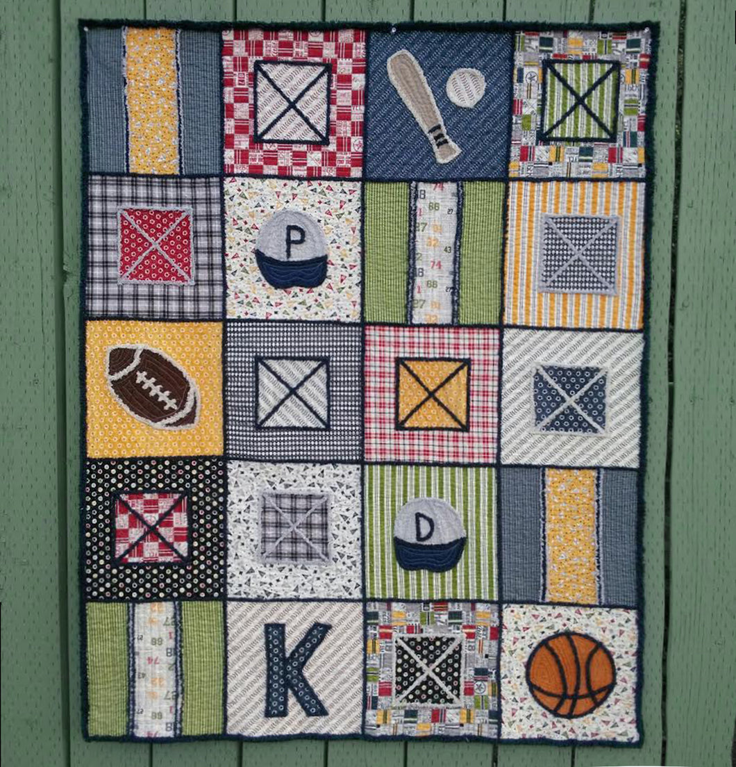 Game On Quilt pattern
