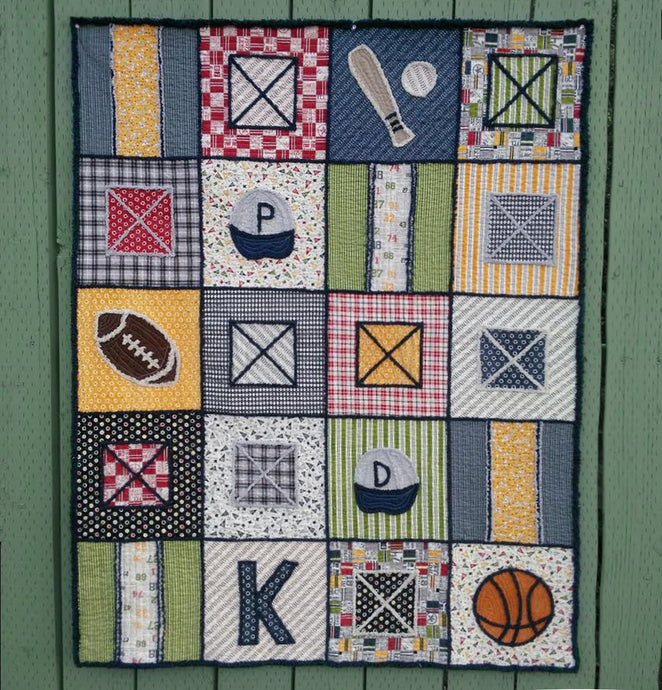 Game On Quilt kit