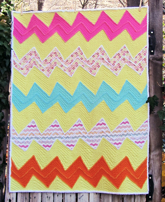 Wonky Quilt Pattern