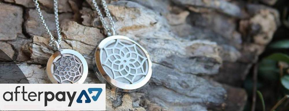 Aromatherapy (Aroma) Essential Oil Diffuser Necklaces, Pendants, Lockets and Lava Gemstone Bracelets | afterPay Available