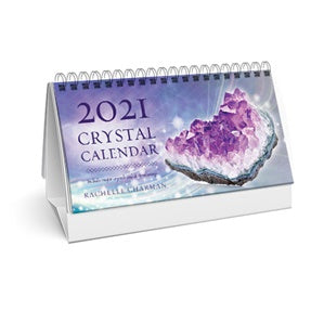 2021 Crystal Desk Calendar - Author Rachelle Charman - IN STOCK