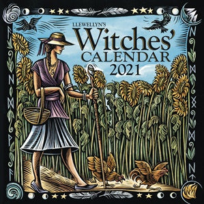 2021 Llewellyn Witches' Calendar - IN STOCK - Christmas Gift Idea