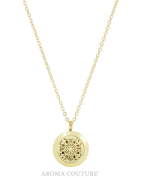 Cora Aromatherapy Diffuser Necklace 24 inch by Aroma Couture