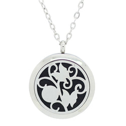 NEW Butterfly Design Aromatherapy Diffuser Necklace - Free Chain