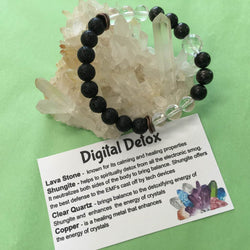 Digital Detox Healing Crystal Gemstone Bracelet