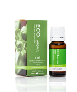Basil Essential Oil 10ml - ECO Aroma