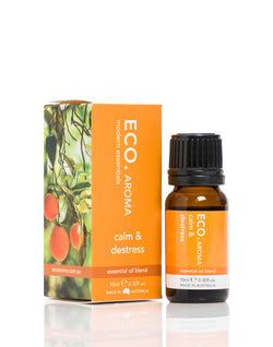 Calm and Destress Essential Oil Blend 10ml - ECO Aroma
