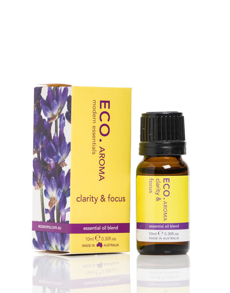 Clarity and Focus Essential Oil Blend 10ml - ECO Aroma
