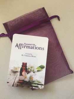 Essential Oil Affirmation Cards by Dr Vanessa Moon