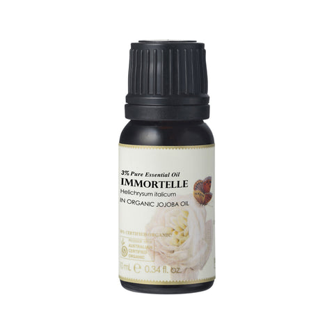 Immortelle 3% in Jojoba Essential Oil 10ml - 100% Certified Organic Ausganica
