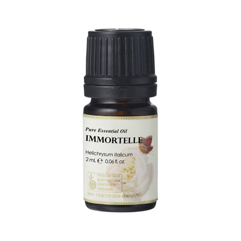 Immortelle Essential Oil 2ml PURE - 100% Certified Organic Ausganica