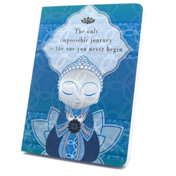 Little Buddha - Impossible Journey - Notebook - Gift Idea