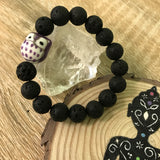 Kid's Ollie Owl and Lava Stone Aroma Diffuser Bracelet - BUY One, get One 1/2 Price