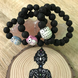 Kid's Ollie Owl and Lava Stone Aroma Diffuser Bracelet