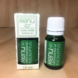 Eucalyptus PURE Essential Oil 10ml - Renu Aromatherapy
