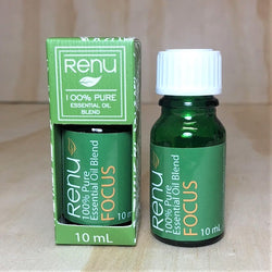 Focus Essential Oil Blend 10ml - Renu Aromatherapy