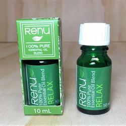 Relax Essential Oil Blend 10ml - Renu Aromatherapy