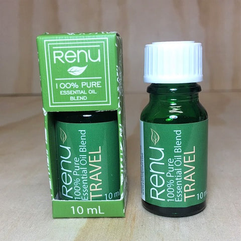 Travel Essential Oil Blend 10ml - Renu Aromatherapy