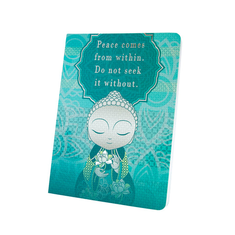 Little Buddha - Peace Within - Notebook - Gift Idea
