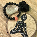 Kid's Little Elephant and Lava Stone Aroma Diffuser Bracelet