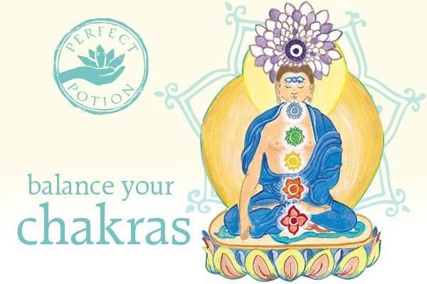 Chakra Essential Oil Blend - Perfect Potion