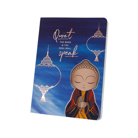 Little Buddha - Quiet The Mind - Notebook - Gift Idea
