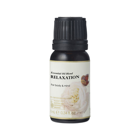 Relaxation Essential Oil Blend 10ml - 100% Certified Organic Ausganica