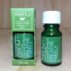 Breathe Freely Essential Oil Blend 10ml - Renu Aromatherapy