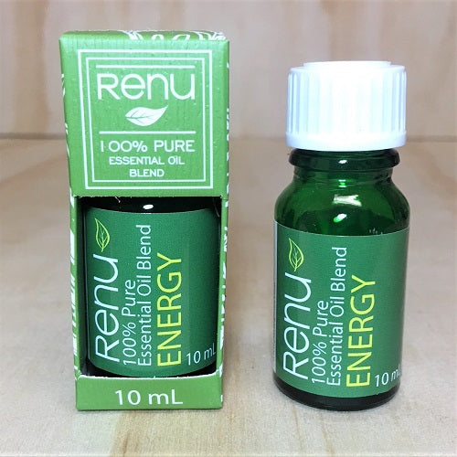 Energy Essential Oil Blend 10ml - Renu Aromatherapy
