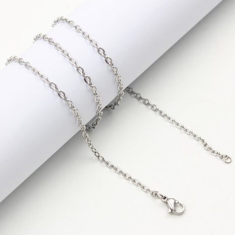 "Chain Stainless Steel - 60cm (24"")"