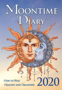 2020 Moontime Diary - Author Iris Detenhoff