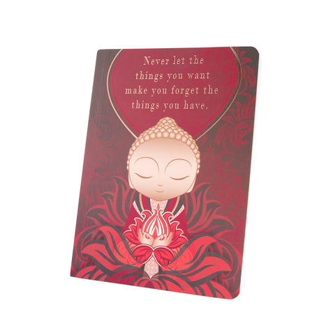 Little Buddha - Things You Have - Notebook - Gift Idea