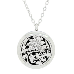 NEW Tree of Life Design Aromatherapy Diffuser Necklace - Free Chain