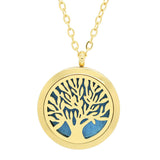 doTERRA Balance Tree of Life Design Aromatherapy Diffuser Necklace - Free Chain