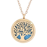 doTERRA Balance Tree of Life Design Aromatherapy Diffuser Necklace - Gift Pack