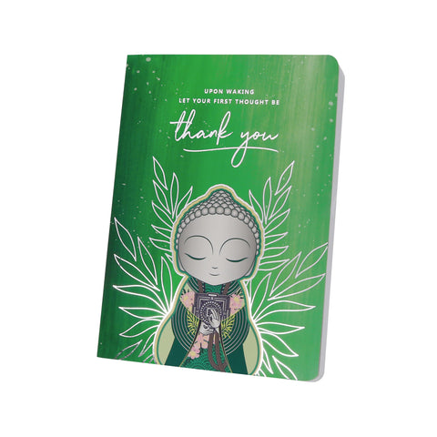 Little Buddha - Upon Waking - Notebook - Gift Idea