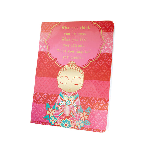 Little Buddha - What You Think - Notebook - Gift Idea