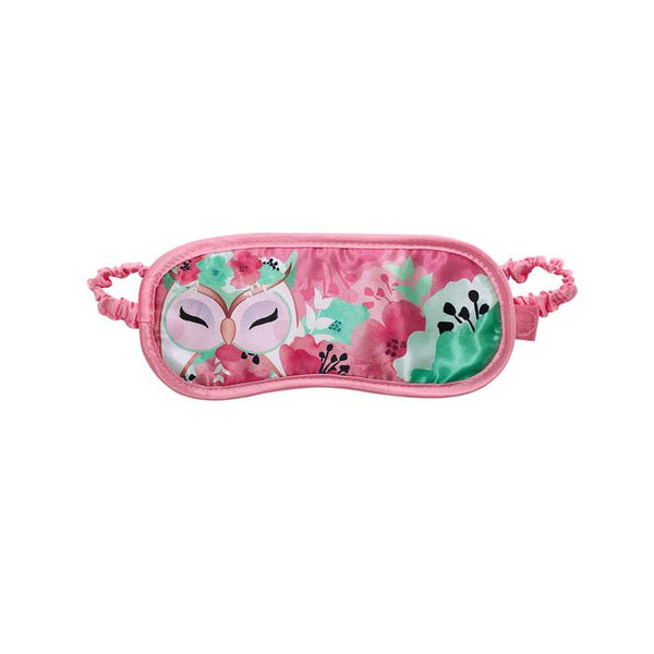 HOPE - Owl Satin Eye Mask - Sleep Mask - Wise Wings - Gift idea