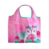 HOPE - Owl ECO Foldable Shopping Bag Tote - Wise Wings - Gift idea