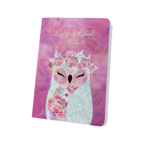 KINDNESS - Owl Notebook - Wise Wings - Gift idea