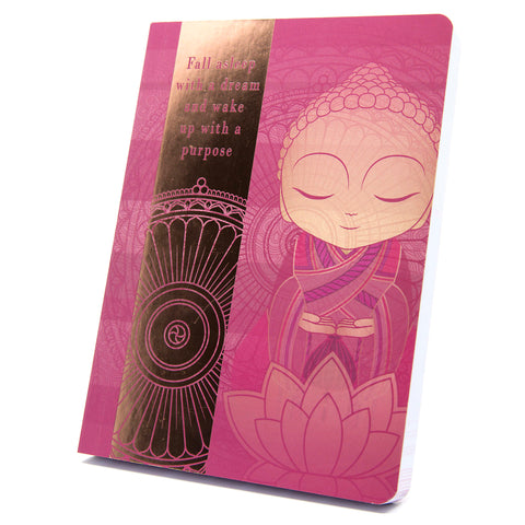Little Buddha - With Purpose - Notebook - Gift Idea