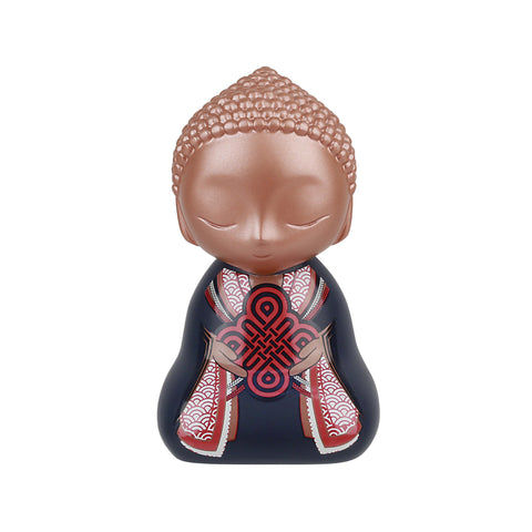Little Buddha Collectable Figurine - Worth Doing - 90mm - Gift Idea