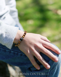 Kids Tiger's Eye and Lava Diffuser Bracelet