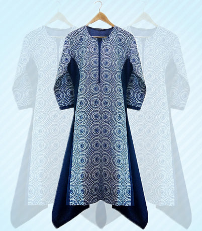 Casual wear for women, jackets, kurtis, shirts, dresses, tops, cotton, embroidered, printed.