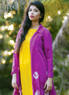 Ethnic wear for women, kurti, cotton, silk, party wear, embroidered, bandhani.