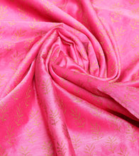 Pink Embroidered Kora Silk Salwar Kameez