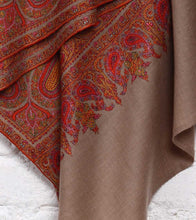 Toosh Jamawar Embroidered Pure Pashmina Shawl