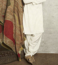 White Rayon Embroidered Kurta With Patiala