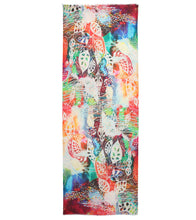 Multicoloured Rayon Digitally Printed Scarf