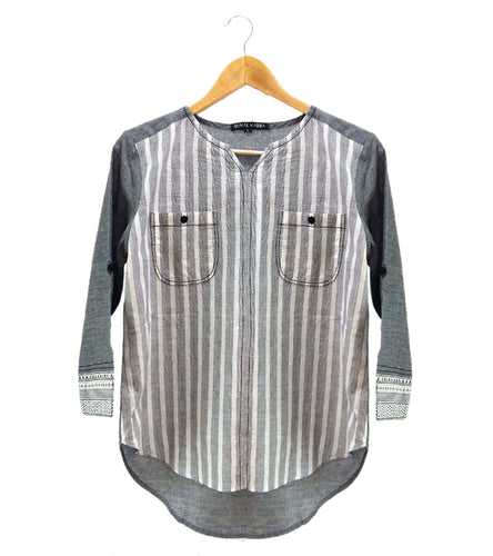 Grey South Cotton Shirt